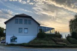 Clubhuis van Golf & Country Club Christnach