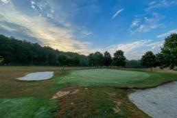 Green hole 1 Golf& Country Club Christnach