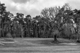 Green hole 6 van de Hattemse Golf & Country Club