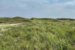Hole 17 van de Noordwijkse Golfclub