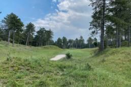 Hole 6 van de Noordwijkse Golfclub