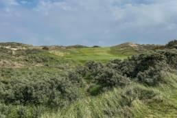 Hole 8 van de Noordwijkse Golfclub