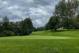 Hole 10 van Golfbaan de Hooge Rotterdamsche