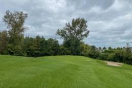 Hole 11 van Golfbaan de Hooge Rotterdamsche