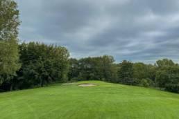 Hole 3 van Golfbaan de Hooge Rotterdamsche