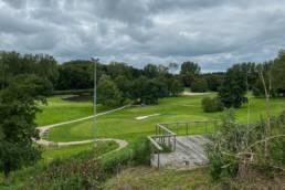 Een oefengreen van Golfbaan de Hooge Rotterdamsche