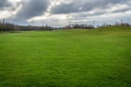 Hole 9 op Golfbaan Dirkshorn