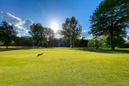 Green hole 2 van Openbare Golfbaan Kralingen