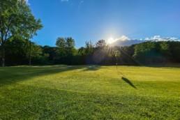 Green hole 5b van Openbare Golfbaan Kralingen