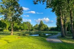 Hole 8 van Openbare Golfbaan Kralingen