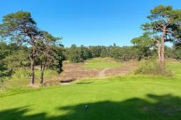 Hole 17 van Utrechtse Golfclub 'De Pan'