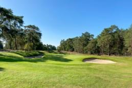 Green hole 3 van Utrechtse Golfclub 'De Pan'