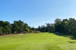 Hole 6 van Utrechtse Golfclub 'De Pan'