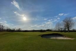 Green hole 14 Utrechtse Golfclub Amelisweerd