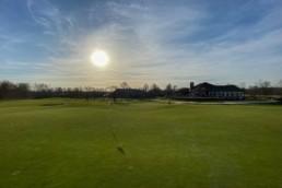 Green hole 18 Utrechtse Golfclub Amelisweerd