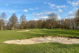 Hole 13 Utrechtse Golfclub Amelisweerd