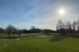 Hole 17 Utrechtse Golfclub Amelisweerd
